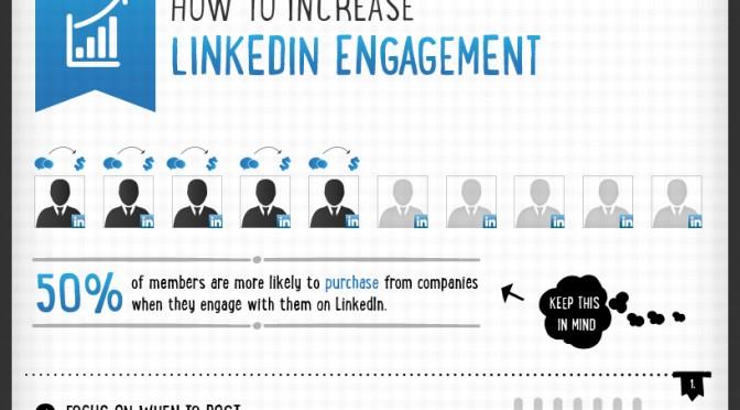 Sådan får du mere engagement på LinkedIn